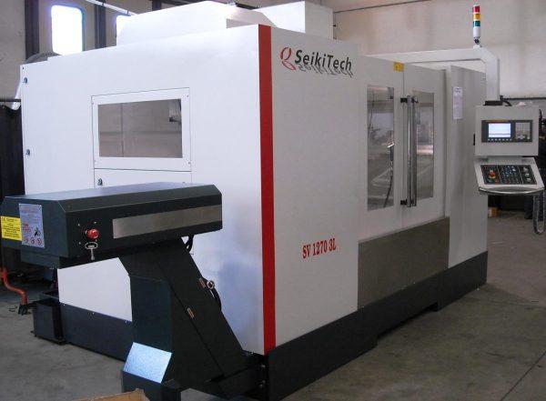 SEIKITECH Mod. SMV 1060 H3L con CNC FANUC 0i-MF