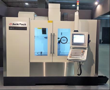 SEIKI TECH Mod. SMV 1370 H3L con CNC HEIDENHAIN TNC 620